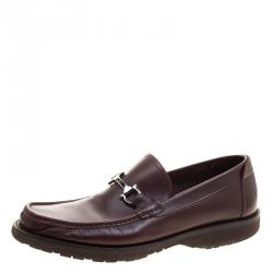 New Promotions Alexander Wang Leather Max Loafers Claret
