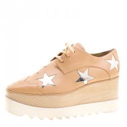 Stella McCartney Woman Faux Leather Sneakers Size 39 toSKOp