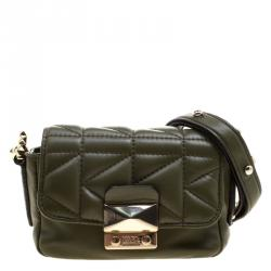 Pre-owned - Leather mini bag Karl Lagerfeld vCYgwTUrWp