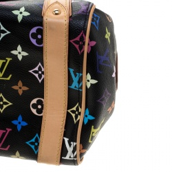 Louis Vuitton Black Multicolor Monogram Canvas Priscilla Bag
