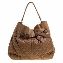 ... Pre-Owned BURBERRY Nova Check Tote Bag get cheap 21e7f f62e3  Burberry  Brown Quilted Leather Enmore Hobo store f6b7b ed8e8 . ... 1d9229d5a58ea