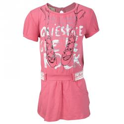 fb52c8996 John Galliano Pink Printed Cotton Jersey T-Shirt Dress 9 Months
