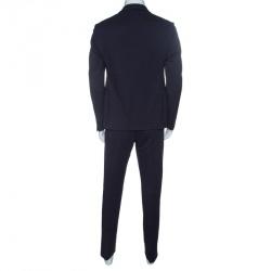 Armani Collezioni Navy Blue M Line Drop-8 Tailored Suit XL