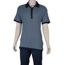 Armani Collezioni Silk Classic Men's Polo Shirt XL