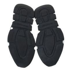 Balenciaga Black Knit Fabric Speed Logo Sneakers Size 40