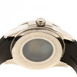 Bernhard H Mayer Black Stainless Steel Force Maximus Men's Wristwatch 44 mm