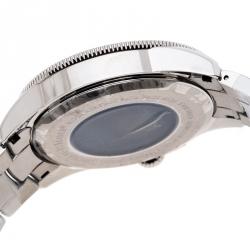 Bernhard H. Mayer White Stainless Steel Force Quantum Men's Wristwatch 43 mm