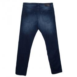 Boss Green by Hugo Boss Indigo Faded Effect Stretch Denim Slim Fit Jeans L