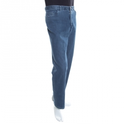 5d52c4af5b83e بنطلون جينز بريوني دنيم مارمولادا مستقيم أزرق داكن 3XL
