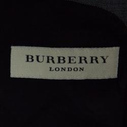 Burberry London Grey Melange Wool Tailored Suit XXL