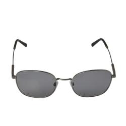 Bvlgari Matte Gunmetal / Grey Polarized BV5049 Oval Sunglasses