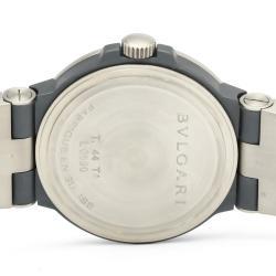 Bvlgari Black Titanium Diagono Chronograph TI44TACH Men's Wristwatch 44 MM
