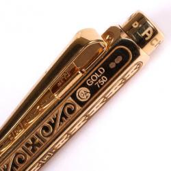 Caran d'Ache 18 K Yellow Gold Ballpoint Pen