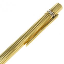 Cartier Gold Plated Steel Must de Cartier Trinity Ballpoint Pen