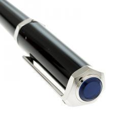 Cartier Santos-Dumont Black Composite Palladium Finish Rollerball Pen