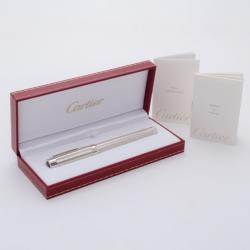 Cartier Pasha Platinum Finish Ballpoint