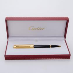 Cartier Pasha Gold Plated Top Ballpoint