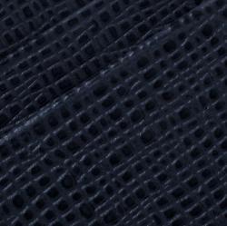 Cerruti 1881 Navy Blue Leather Chester 6CC Zip Card Holder