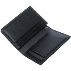 Cerruti 1881 Black Leather Rodi Card Case