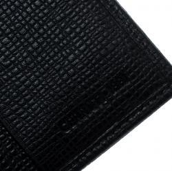 Cerruti 1881 Black Leather Chester Bifold Wallet