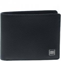 065e14ade23 Cerruti 1881 Black Leather Hove Bifold Wallet
