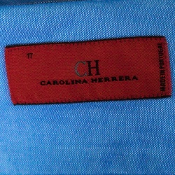 CH Carolina Herrera Indigo Chambray Long Sleeve Button Down Shirt XXL
