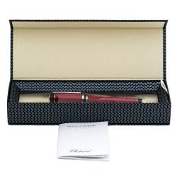 قلم حبر جاف شوبارد رايسر 95013-0370 مطلي بالاديوم راتنج حمراء