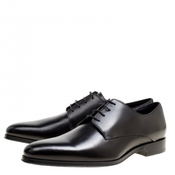 Dior Black Lace Up Derby Size 41.5