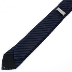 Dior Blue Striped Tie