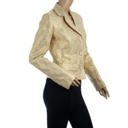 Christian Dior Gold Jacket M
