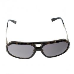 416c1475a237 Dolce and Gabbana Green Camo/Bronze Mirror DG 2167 Aviator Sunglasses