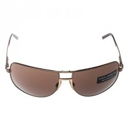 5f6d411ed نظارة شمسية دولتشي أند غابانا افياتور DG2009 بنية/ برونزية