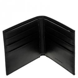 Dolce & Gabbana Black Leather Bifold Wallet