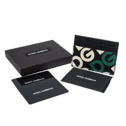 محفظة بطاقات دولتشي آند غابانا دي جي مانيا مطبوعة متعددة الألوان