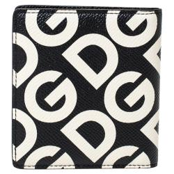 Dolce & Gabbana Multicolor DG Mania Print Leather Bifold Wallet