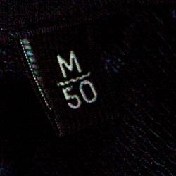Ermenegildo Zegna Teal Argyle Pattern Cotton Jacquard Polo T-Shirt M