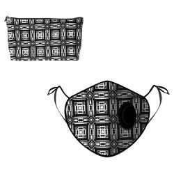 Fine Guard By Caroline Reusable N95 Face Mask, Mazerunner  - Large (Available for UAE Customers Only)