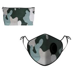 Fine Guard By Caroline Reusable N95 Face Mask, Army Patch - Large (Available for UAE Customers Only)