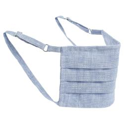 Collars & Cuffs Non-Medical Handmade Capri Face Mask (Available for UAE Customers Only)