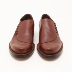 Fendi Light Brown Side Laced Men's Loafers Size 43