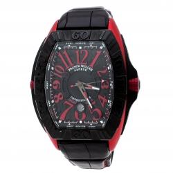 Franck Muller Black Titanium Conquistador Sport GPG 9900 SC DT GPG Men's Wristwatch 48 mm