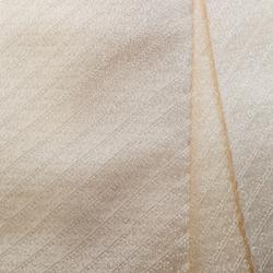 Giorgio Armani Cream Logo Jacquard Silk Tie