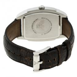 Emporio Armani Bronze Stainless Steel AR0934 Men's Wristwatch 41 mm
