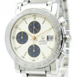 Girard-Perregaux White Stainless Steel GP7000 Men's Wristwatch 38MM