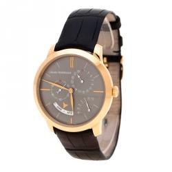 c392532d1 Girard Perragaux Grey 18K Rose Gold 1966 Equation Of Time 49588 Men's  Wristwatch 40 mm