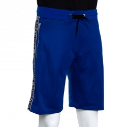 Givenchy Blue Jersey 4G Side Band Shorts S