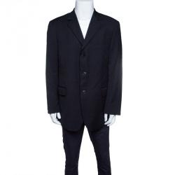 a5004ec0 Givenchy Black Wool Tailored Blazer XXL