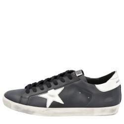 Golden Goose Black Superstar Classic Sneakers Size 39