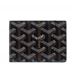 Goyard Brown Goyardine Coated Canvas Victoire Wallet