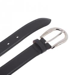 Gucci Black Leather Belt 100CM